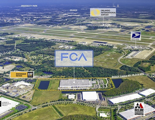 Chrysler-Automobiles-Distribution-Facility-For-Sale-Orlando